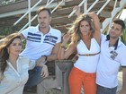 Paulo Vilhena e Thaila Ayala estrelam companha com Gagliasso e Ewbank