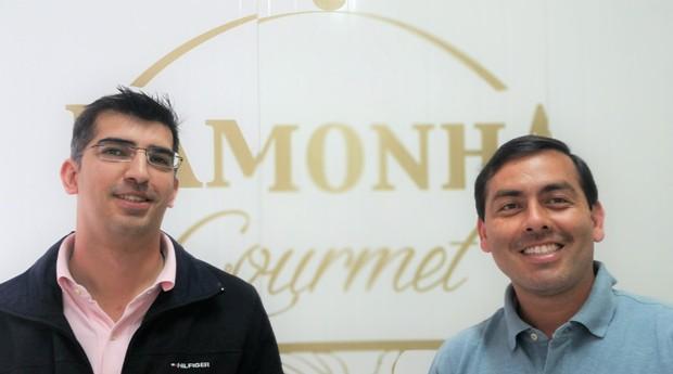Humberto Azenha e Rodrigo Marishima, da Pamonha Gourmet (Foto: Divulgação)