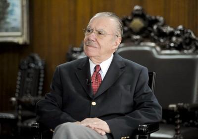Sarney deve ficar no comando do país até sábado (15) (Foto: Agência Senado)