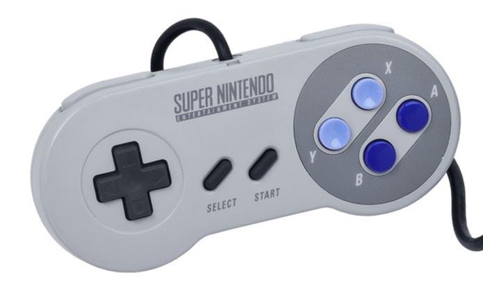 Leve e fácil de usar, joystick do SNES influenciou gerações de controles (Foto: Reprodução)