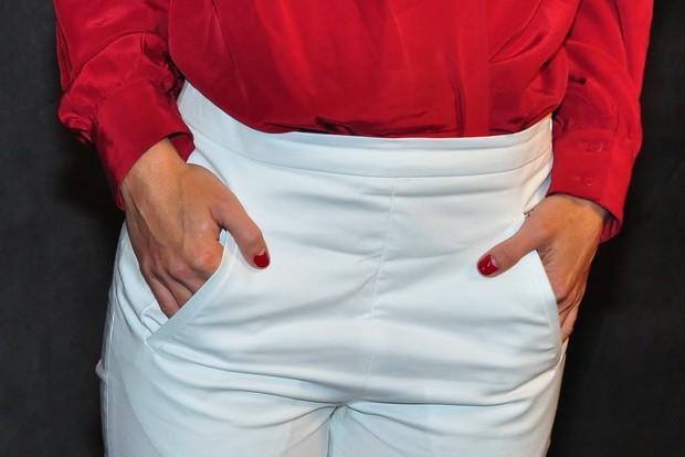 Unhas de Carolina Dieckmann  (Foto: Roberto Teixeira / EGO)