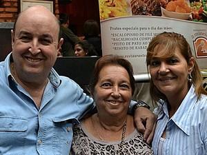 Turista foi morto ao ser baleado no pescoço na virada de ano em Praia Grande, SP (Foto: Reprodução/Facebook)