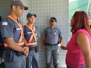 Vitória (ES): candidata perdeu prova e disse que foi assaltada. (Foto: Juliana Borges/ G1ES)