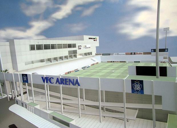 VFC Arena, projeto do novo estádio do Vitória-ES (Foto: Divulgação)