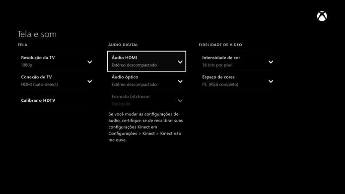 Audio Dolby Digital é uma das boas novidades da atualização de março (Foto: Reprodução/Murilo Molina)
