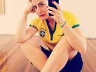 Famosos declaram sua torcida pelo Brasil em dia de jogo contra a Alemanha valendo a final na Copa