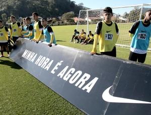A Chance final coletivo (Foto: Pedro Veríssimo/Globoesporte.com)