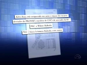 Inquérito policial mostra envolvimento de políticos (Foto: Reprodução/RBS TV)