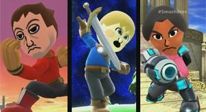 Miis serão lutadores em 'Super Smash Bros.' (Foto: Divulgação/Nintendo)
