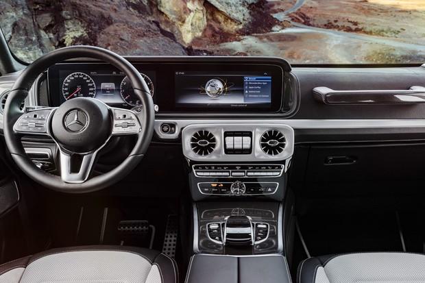 Interior do novo Mercedes Classe G (Foto: Divulgação)