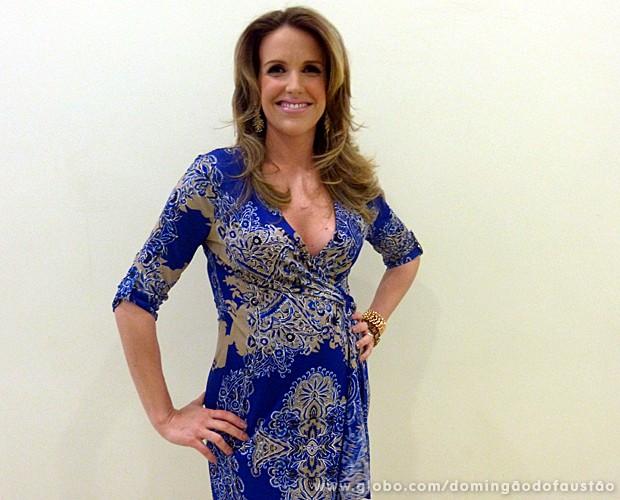 Mariana Ferrão (Foto: Domingão do Faustão / TV Globo)