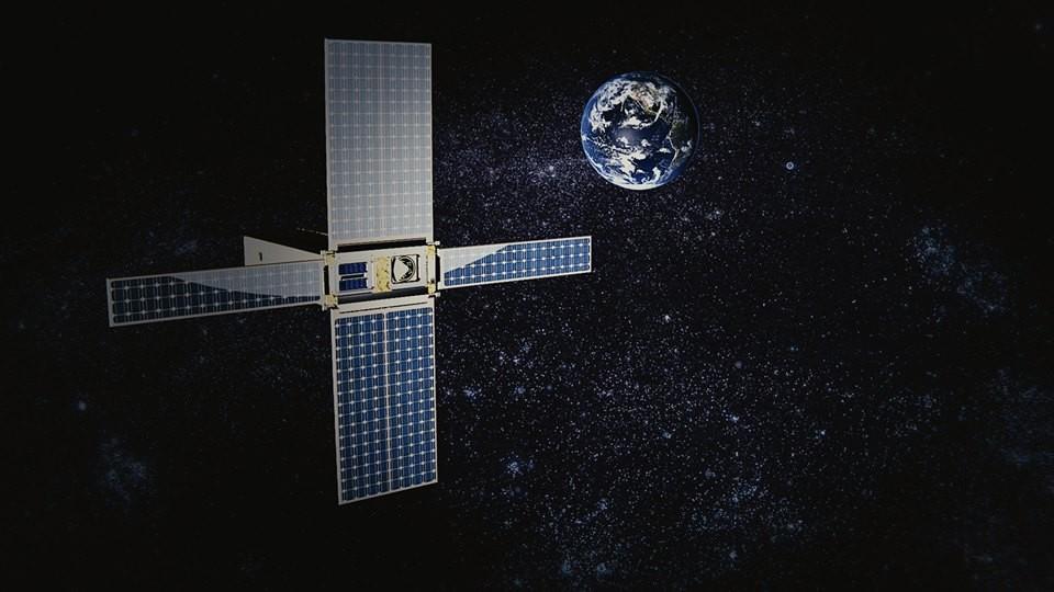 Concepção artística da sonda Garatéa-L no espaço profundo (Foto: divulgação)