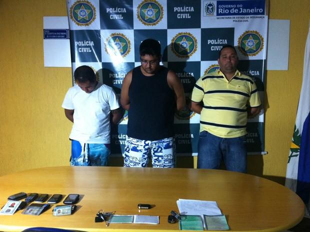 Quadrilha foi presa nesta quinta-feira (24), em São João de Meriti  (Foto: Priscilla Souza/G1)