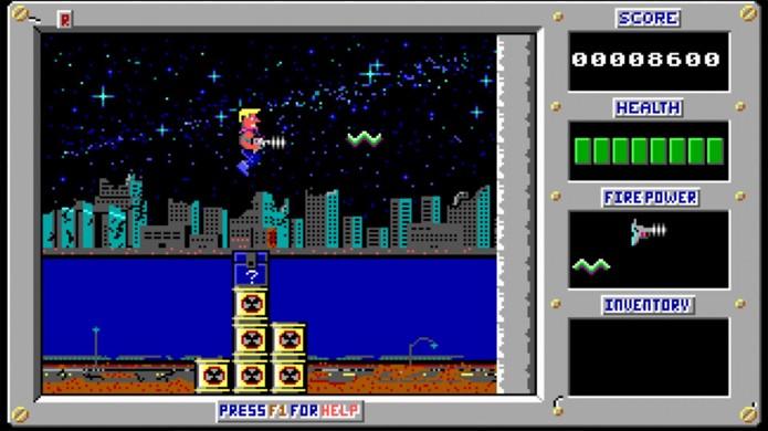 Os jogos originais de Duke não passavam nem perto do que o personagem viria a ser (Foto: squarefaction.ru)