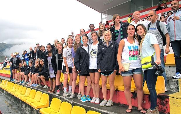 time Vanderbilt University feminino jogo Fluminense (Foto: Vicente Seda)