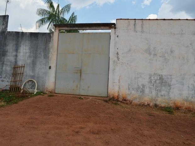 Frente do Centro Sócioeducativo de Cacoal (Foto: Magda Oliveira/G1)