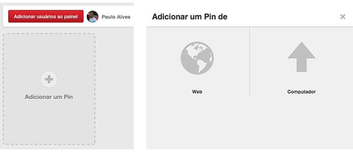 Escolha sempre Web para publicar conteúdo multimídia (Foto: Reprodução/Paulo Alves)