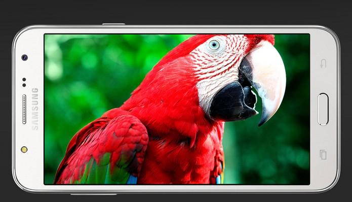 Galaxy J7 vem com tela HD de 5,5 polegadas (Foto: Divulgação/Samsung)