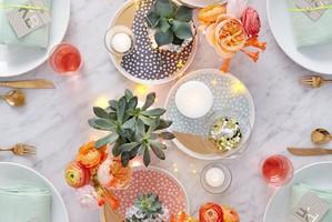 Ideias cool para decorar a mesa