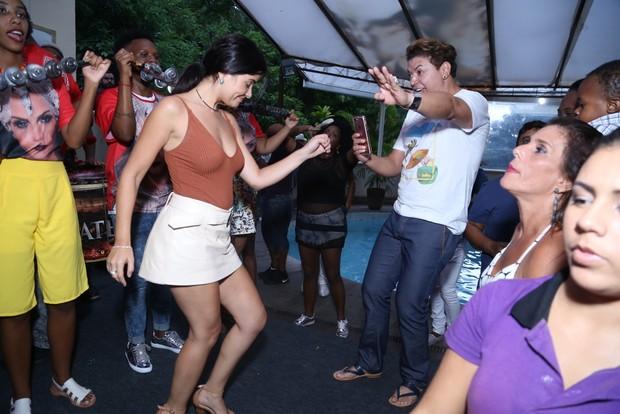 Vanessa Giacomo e David Brazil (Foto: Anderson Borde / AgNews)