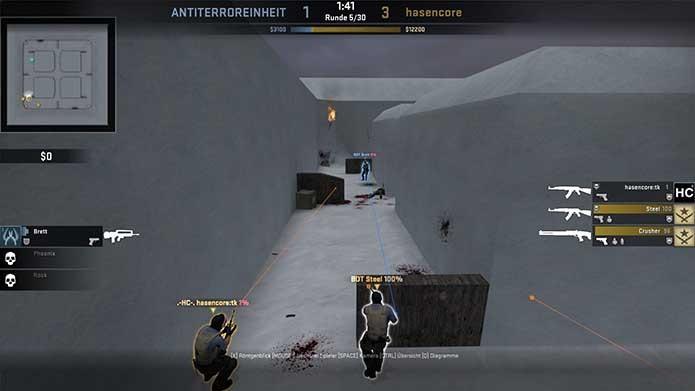 Iceworld é um dos clássicos disponíveis para CS:GO (Foto: Divulgação/Steam)