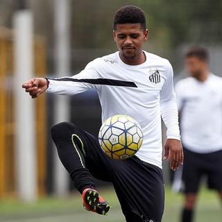 Diogo Vitor - Santos (Foto: Pedro Ernesto Guerra Azevedo/Santos FC)