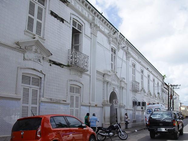 Santa Casa de Misericórdia, em São Luís (MA) (Foto: Flora Dolores / O Estado)