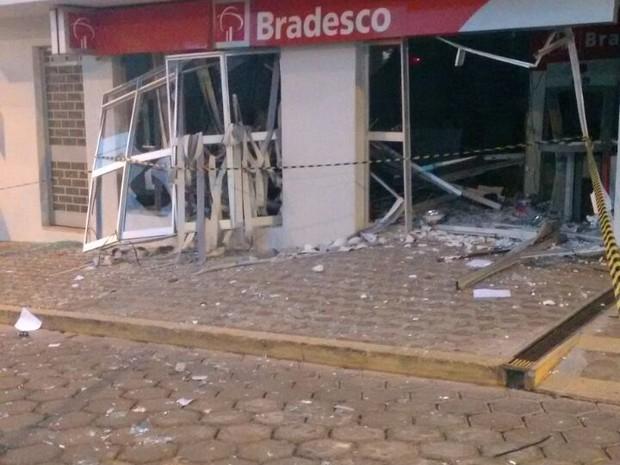 explosão pimenta (Foto: Policia Militar/ Divulgação)