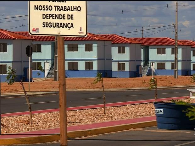 Residencial Parque São Gonçalo em Petrolina, PE (Foto: Reprodução/ TV Grande Rio)