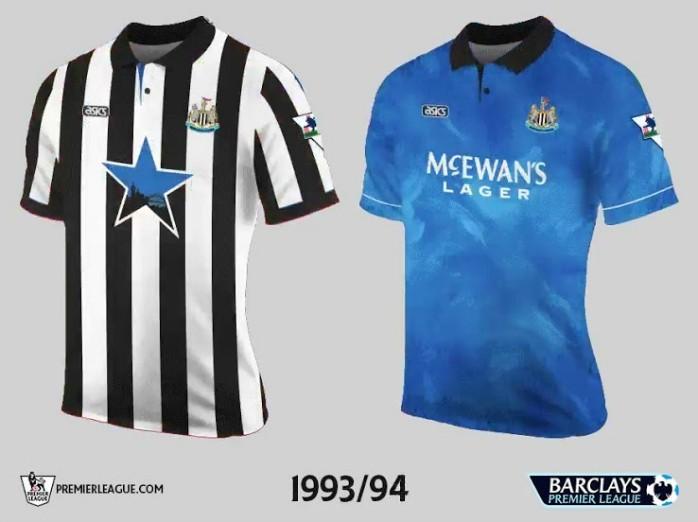 Newcastle Premier League Retrô