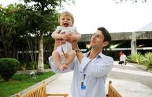 Pais dos bebês Josephina e Erasmus  falam sobre futuro ao G1 (Alexandre Durão/G1)