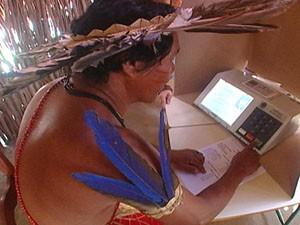 Mais de 14 mil indios poderão votar no Maranhão (Foto: TSE)