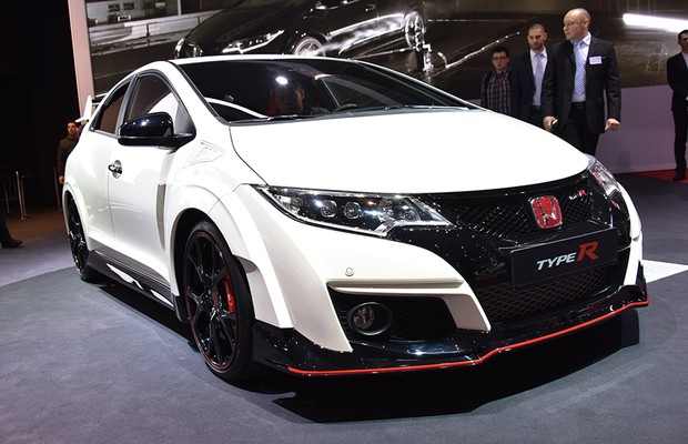 Honda Civic Type-R no Salão de Genebra 2015 (Foto: Newspress)