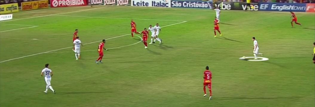 Análise mostra velocidade que chegou chute no gol do Santos sobre o Audax