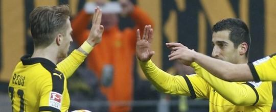 Dortmund bate Hannover e segue na caça ao Bayern (Reuters)
