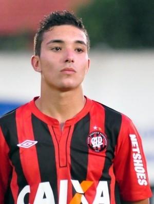 Maycon Canário, volante do Atlético-PR (Foto: Divulgação/Site oficial do Atlético-PR)