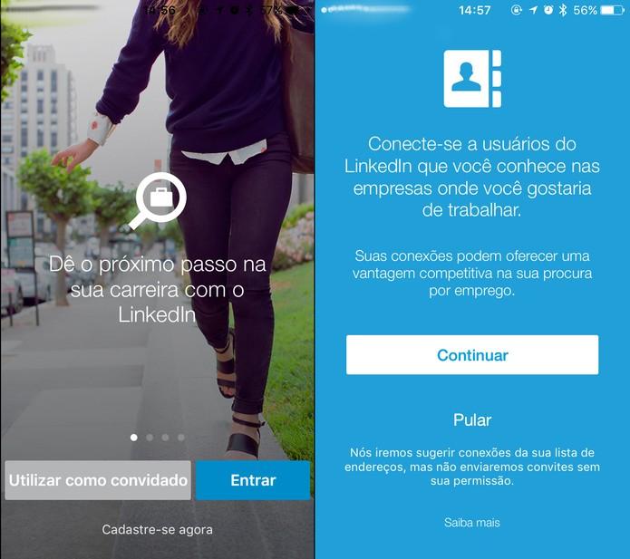 Como usar o LinkedIn Job Search para buscar vaga de emprego no celular (Foto: Reprodução/Felipe Vinha)