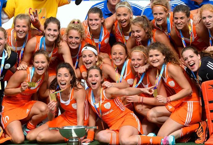 Hóquei copa do mundo Holanda (Foto: Agência Reuters)