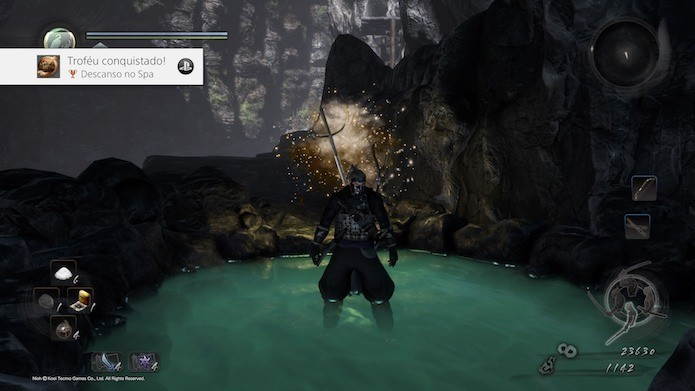 Nioh: Japão feudal está bem representado no game (Foto: Reprodução/Victor Teixeira)