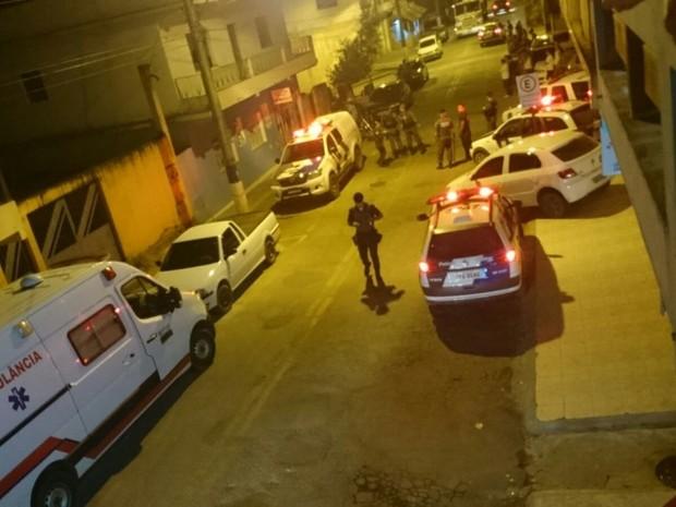 Homem morre no ES atingido por bala de borracha disparada por PM espírito santo (Foto: Leitor/ A Gazeta)