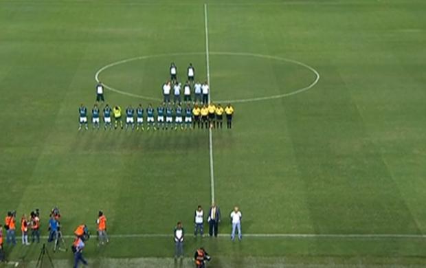 Goiás x Grêmio no Serra Dourada (Foto: Reprodução SporTV)