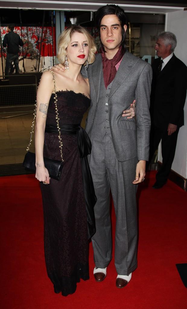 Peaches Geldof e seu noivo, Thomas Cohen (foto de arquivo) (Foto: Getty Images)