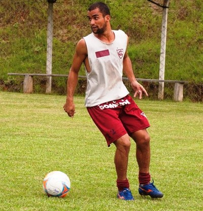Leandrinho Atlético de Ibirama (Foto: Orlando Pereira/CAHA)
