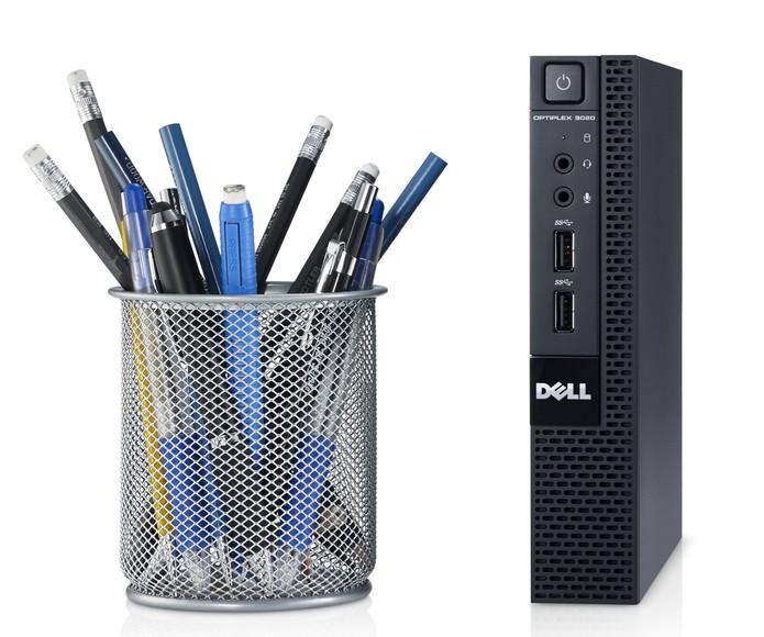Dell lança no Brasil desktop ultrafino, com tamanho de