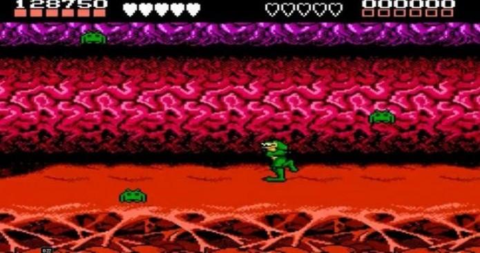 Battletoads possuía uma referência forte a Space Invaders (Foto: Reprodução/Cheat CC)