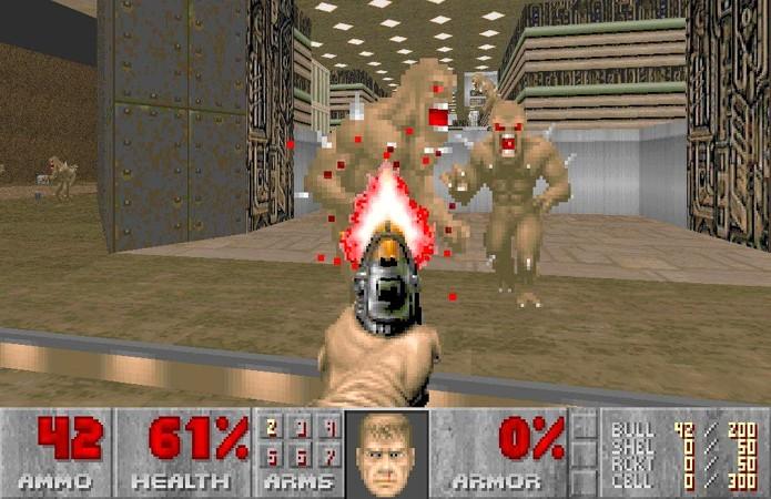 O clássico Doom iniciou uma série de proporções inimagináveis nos anos 90 (Foto: Reprodução/Escapist Magazine)