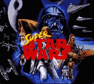 Tela inicial de 'Super Star Wars', do SNES (Foto: Divulgação/LucasArts)