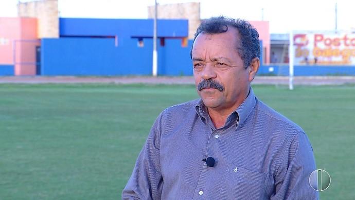 RN - Cláudio José Freire Cal presidente Palmeira-RN (Foto: Reprodução/Inter TV Cabugi)