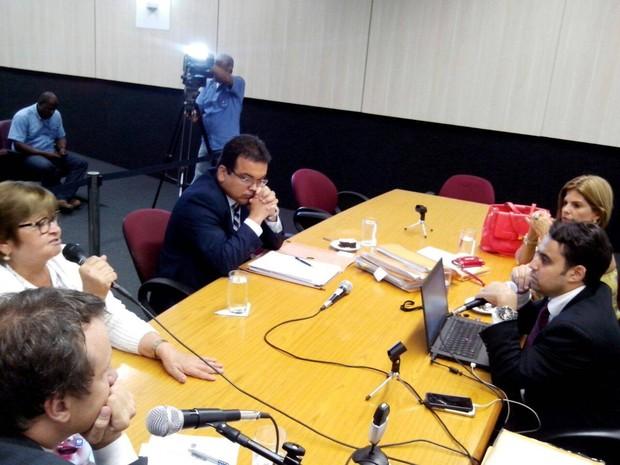 Testemunhas de defesa são ouvidas sobre envolvimento em subvenções (Foto: Flávio Antunes/G1)