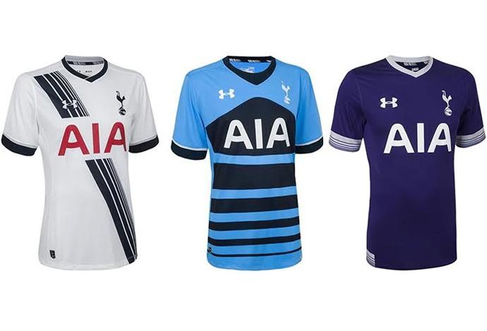 bf47224919 Veja as camisas de todos os times do Campeonato Inglês 2015 2016 ...